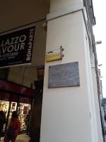Ascanio Sobrero, lapide