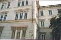 Porzione di facciata. © Archivio della scuola elementare Pestalozzi