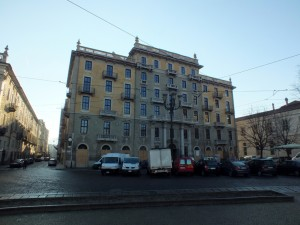 Ex Albergo di virtù, piazza Carlo Emanuele II 15