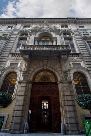 La facciata di Palazzo Barolo. Fotografia di Mattia Boero, 2010. © MuseoTorino.