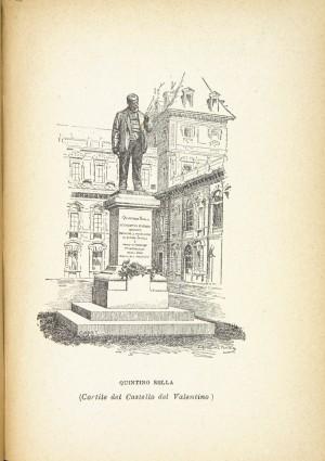 Cesare Reduzzi, Monumento a Quintino Sella, 1893. Litografia 1894. © Archivio Storico della Città di Torino