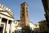 Il campanile di Sant'Andrea presso il Santuario della Consolata (2). Fotografia di Marco Saroldi, 2010. © MuseoTorino.