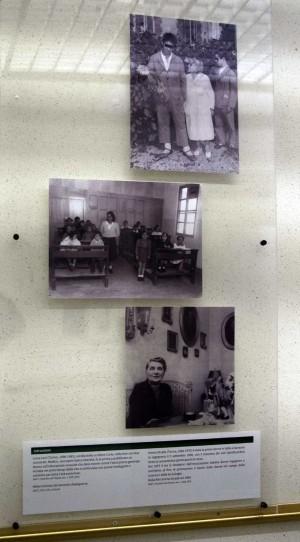 Un pannello della mostra ''Torino e le donne'' - Sezione: Istruzione e insegnamento