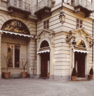 Ristorante del Cambio, esterno (riproduzione da libro: Ronchetta, 2001, p. 174)