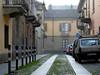 Via Ceres, stradina lastricata di Borgo Campidoglio. Archivio Circoscrizione 4.