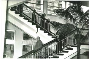 Inaugurazione del nuovo edificio della Biblioteca civica, 3 novembre 1960. Biblioteca civica Centrale © Biblioteche civiche torinesi