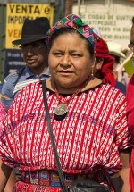 Rigoberta Menchú Tum (Uspantán, Guatemala, 1959)