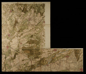 Carta topografica della caccia (1760-1766 circa)