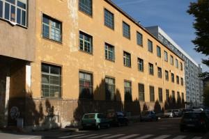 L'ex palazzina Uffici Ceat ora Gruppo Abele. Fotografia Giuseppe Beraudo, 2009