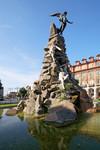 Il monumento al traforo del Frejus. Fotografia di Mattia Boero, 2006. © MuseoTorino.