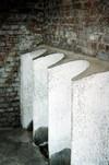 Orinatoi del ricovero. Aprile 2001. © ISTORETO