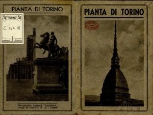 Pianta di Torino. 1935 circa. Biblioteca civica centrale, Cartografico  3/4.18. 02 © Biblioteche civiche torinesi