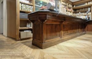 Pastificio Defilippis, particolare del bancone, 2017 © Archivio Storico della Città di Torino