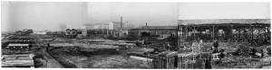 Via Rivalta, 61. Stabilimento FIAT - Sezione Materiale Ferroviario. Effetti prodotti dai bombardamenti dell'incursione aerea del 20-21 novembre 1942. UPA 2051_9F02-11. © Archivio Storico della Città di Torino