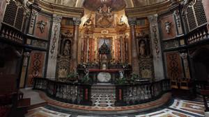 Altare maggiore della chiesa di San Lorenzo. Fotografia diPaolo Mussat Sartor e Paolo Pellion di Persano, 2010. © MuseoTorino
