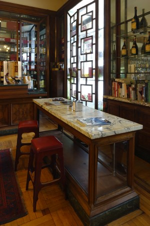 Confetteria Pasticceria Pfatisch, particolare interno, 2017 © Archivio Storico della Città di Torino