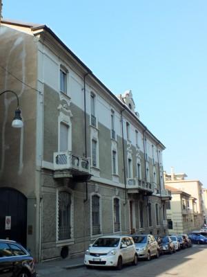 Via Lanfranchi 6A angolo via Mancini 8. Fotografia di Paola Boccalatte, 2014. © MuseoTorino