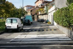 Parte del tracciato della via. Fotografia Giuseppe Beraudo, 2009