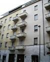 Edificio a uso abitazione, negozio e magazzino in via Carlo Capelli 31