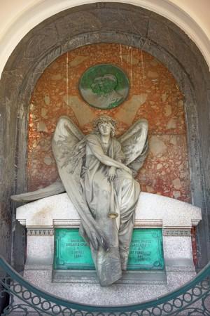 01AI Luigi Belli (1844-1919), Tomba Laclaire (Arcata 177). Fotografia di Roberto Cortese, 2018