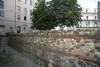 Resti delle mura romane presso la Porta Palatina (4). Fotografia di Marco Saroldi, 2010. © MuseoTorino.