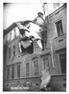 Via Valfrè 8, Scuola Ricardi di Netro. Effetti prodotti dai bombardamenti dell'incursione aerea del 20-21 novembre 1942. UPA 1765_9B01-03. © Archivio Storico della Città di Torino