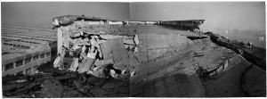 S.L. FIAT Autocentro - Stabilimento di Mirafiori. Effetti prodotti dai bombardamenti dell'incursione aerea del 20-21 novembre 1942. UPA 2102D_9F02-16. © Archivio Storico della Città di Torino