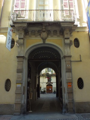 Via San Tommaso 6. Fotografia di Paola Boccalatte, 2014. © MuseoTorino