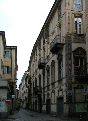 Via San Dalmazzo, lapide in memoria di Liberina Lucca. Fotografia di Paola Boccalatte, 2013. © MuseoTorino