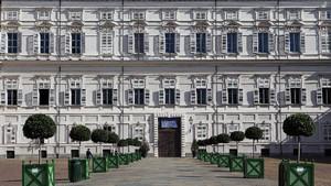 Particolare della facciata di Palazzo Reale. Fotografia di Paolo Mussat Sartor e Paolo Pellion di Persano, 2010. © MuseoTorino