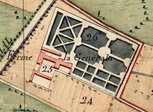 Cascina Generala. Catasto Napoleonico, 1805. © Archivio di Stato di Torino