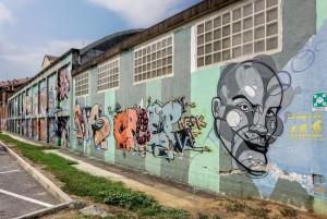 MKE, murale senza titolo, 2011, via Chambéry