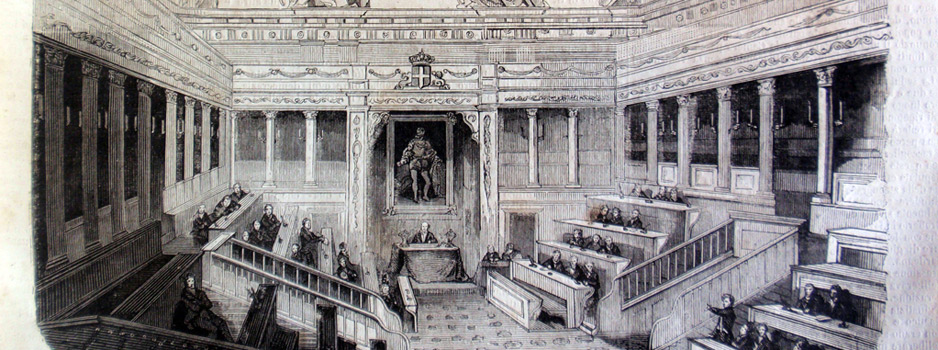 Aula del Senato di Palazzo Madama
