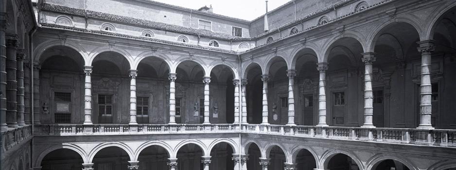 Cortile del Palazzo dell'Università degli Studi