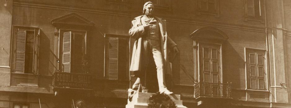 Lapide dedicata a Vincenzo Gioberti