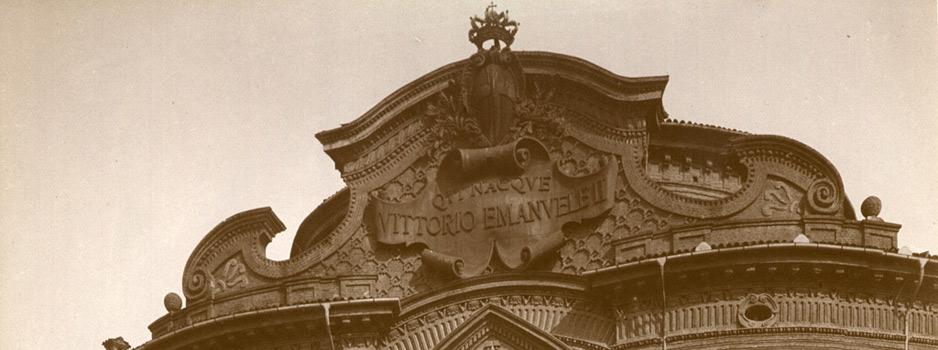 Lapide dedicata a Vittorio Emanuele II di Savoia