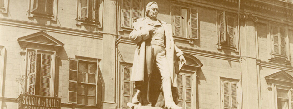 Monumento dedicato a Vincenzo Gioberti