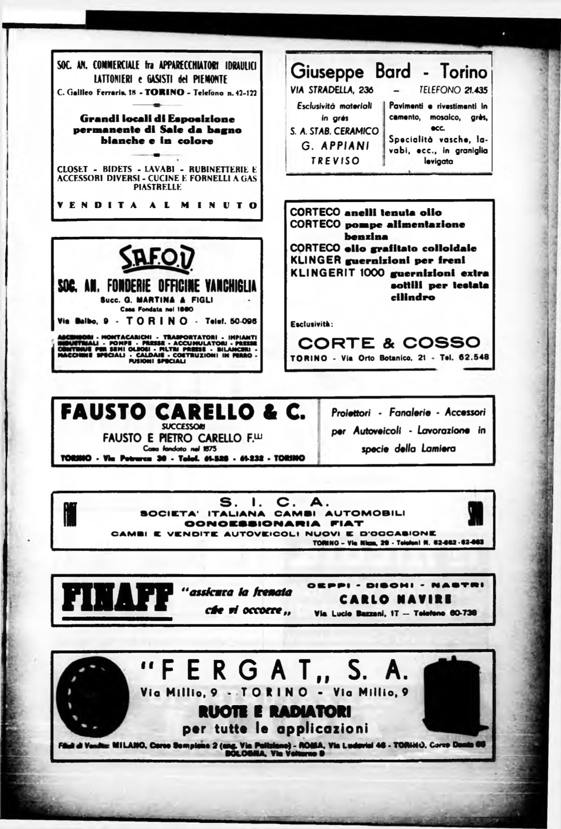 Rubinetterie Ed Accessori Torino.Torino Rivista Mensile Municipale 1938